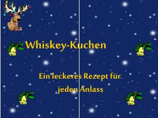Whiskey-Kuchen