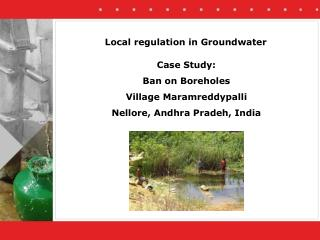 Local regulation in Groundwater