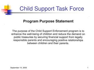 Child Support Task Force