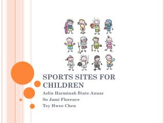 SPORTS SITES FOR CHILDREN