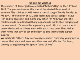 FATHER'S DAY WRITE-UP