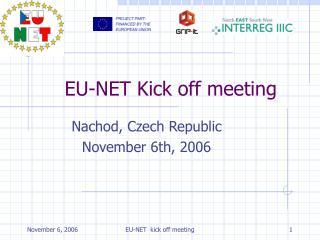 EU-NET Kick off meeting