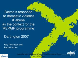 Devon's response  to domestic violence & abuse as the context for the REPAIR programme