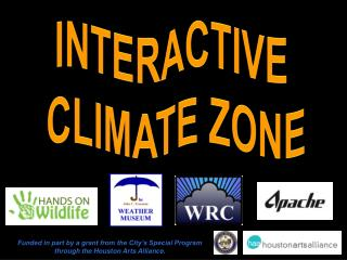 INTERACTIVE  CLIMATE ZONE