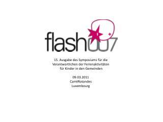15. Ausgabe des Symposiums für die Verantwortlichen der Ferienaktivitäten