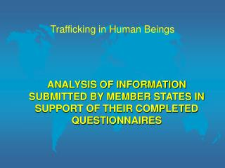 Trafficking in Human Beings