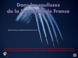 Dans les coulisses  de la Patrouille de France