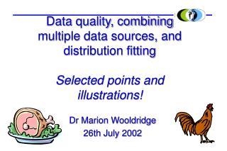 Dr Marion Wooldridge 26th July 2002