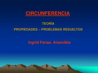 Ingrid Farías  Arancibia