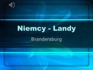 Niemcy - Landy