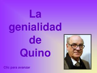 La  genialidad  de  Quino