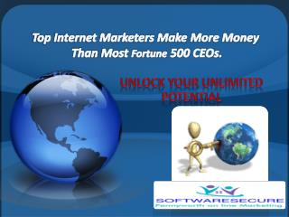 Top Internet Marketers Make  More Money  Than  Most  Fortune  500 CEOs.