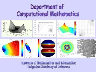 Department of  Computational Mathematics