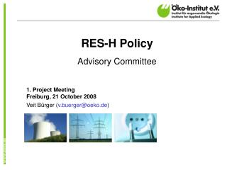 RES-H Policy Advisory Committee