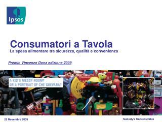 Premio Vincenzo Dona edizione 2009