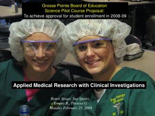 Applied Medical Research with Clinical Investigations
