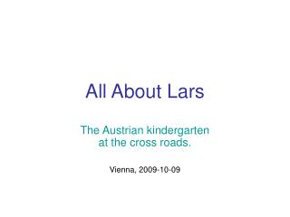 All About Lars