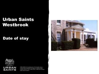 Urban Saints  Westbrook