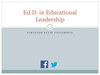 Ed.D. in Educational Leadership