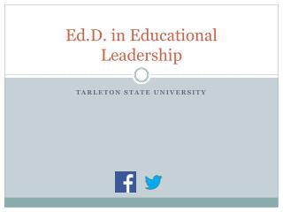 Ed.D. in Educational Leadership
