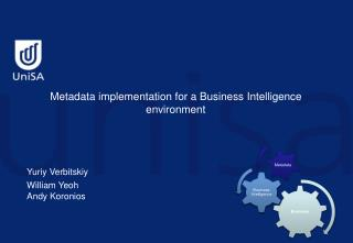 Metadata implementation for a Business Intelligence environment