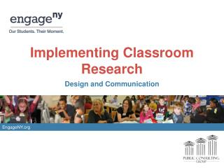 Implementing Classroom Research