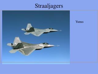 Straaljagers