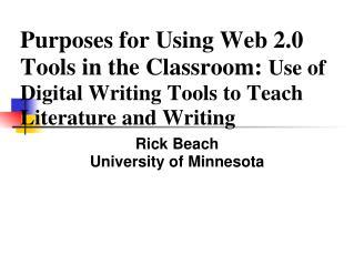 Rick Beach University of Minnesota