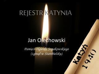 Jan Olechowski