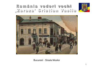 Bucuresti - Strada Mosilor