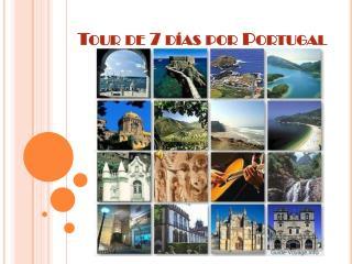 Tour de 7 días por Portugal