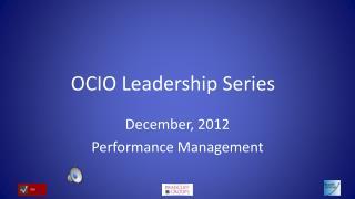 OCIO Leadership Series