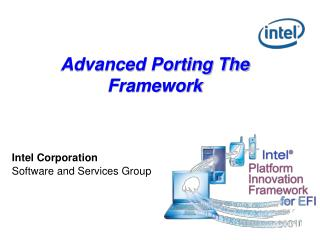 Advanced Porting The Framework