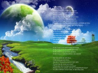 O céu é Jesus Eu já ouvi falar de uma terra sem igual;