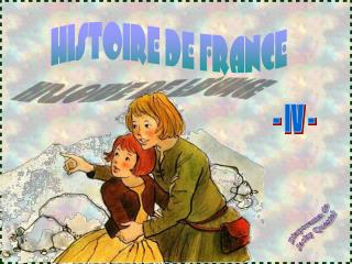 HISTOIRE DE FRANCE