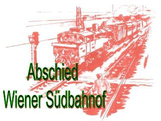Abschied  Wiener Südbahnof