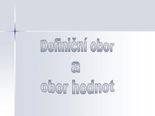 Definiční obor