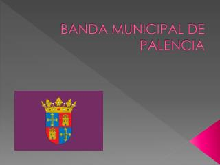BANDA MUNICIPAL DE PALENCIA