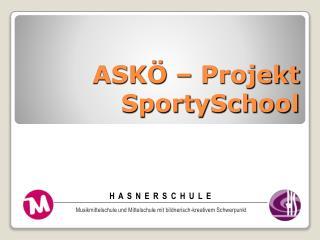 ASKÖ – Projekt  SportySchool