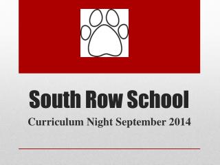 South Row School