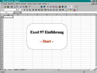 Excel 97 Einführung - Start -