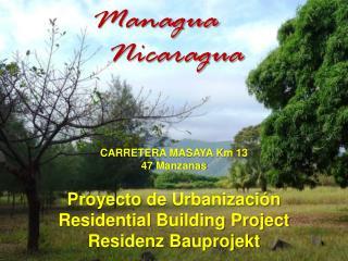 Proyecto  de  Urbanizaci ón Residential  Building  Project Residenz Bauprojekt