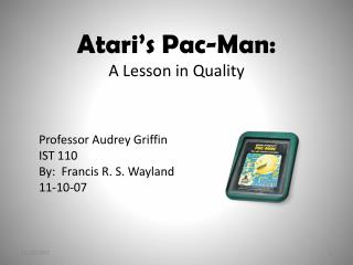Atari's Pac-Man: A Lesson in Quality
