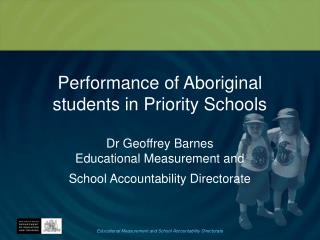 Aboriginal students in Priority Schools: Year 3 reading 2008