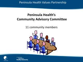 Peninsula Health Values Partnership