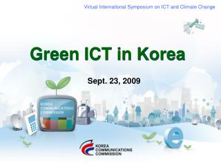 Green ICT in Korea