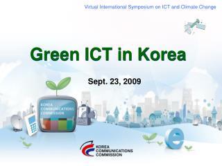 Green ICT in Korea
