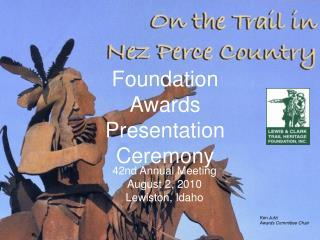 Foundation Awards Presentation Ceremony