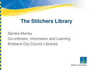 The Stitchers Library