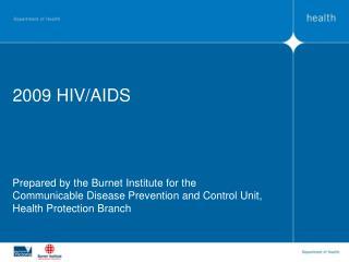 2009 HIV/AIDS